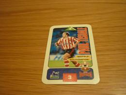 Paul Tisdale Southampton Subbuteo Squads 1995-96 UK English Premier League Football Soccer Trading Card - Trading Cards