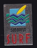 66885- Pin's. Surf Session Magazine, Biarritz.Presse - Sci Nautico