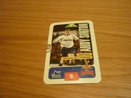 Andy Sinton Tottenham Hotspur Subbuteo Squads 1995-96 UK English Premier League Football Soccer Trading Card - Trading Cards