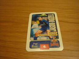 Jason Dozzell Tottenham Hotspur Subbuteo Squads 1995-96 UK English Premier League Football Soccer Trading Card - Trading Cards