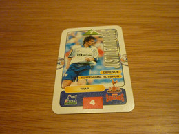 Justin Edinburgh Tottenham Hotspur Subbuteo Squads 1995-96 UK English Premier League Football Soccer Trading Card - Trading Cards
