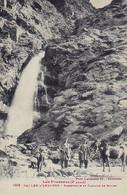 Vallée D'ANDORRE - Passerelle Et Cascade De Moles. Animée. Editeur Labouche, N° 1009. - Andorra