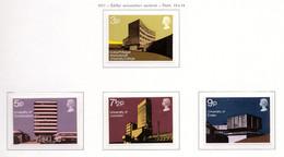PIA - GRAN BRET - 1971 : Edifici Universitari Moderni-  (Yv  646-49) - Nuovi