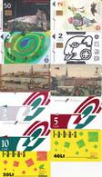11 Télécartes LETTONIE Lot2 - Latvia