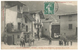 Vallée D'ANDORRE. ENCAMP. Hameau De La Mosquera. Un Coin De La Place. Animée. Editeur Labouche N° 1019. - Andorra