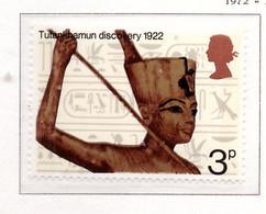 PIA  - GRAN BRETAGNA -  1972  :  50° Anniversario Della Scoperta Della Tomba Di Tutankhamon - (Yv 657) - Nuovi