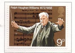 PIA  - GRAN BRETAGNA -  1972  :  100° Anniversario Della Nascita Del Compositore Ralph Vaughan Williams  - (Yv 659) - Nuovi
