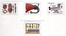 PIA - GRAN BRET - 1972 : 50° Della B.B.C. E 75° Degli Esperimenti Di Marconi E Kemp-  (Yv  665-68) - Nuovi