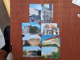 8 Nice Phonecards  Poland Used Rare - Polen
