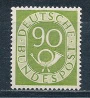 Bund 138 ** Geprüft Schlegel Mi. 550,- - Unused Stamps