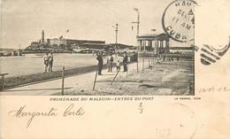 Cuba - La Havane - Promenade Du Malecon - Entrée Du Port - Kuba