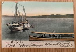 Hrvatska Pula Pola 1906 Brodovi Boats S. M. Schiff Taurus More Sea - Kroatië