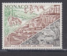 Monaco 1972 - Fight Against Pollution, Mi-nr. 1036, MNH** - Unused Stamps