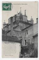LUXEUIL LES BAINS EN 1910 - LA MAISON CARREE - BEAU CACHET - CPA VOYAGEE - Luxeuil Les Bains