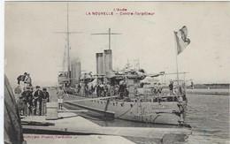 11  Port La Nouvelle   Bateau Militaire   Contre-torpilleur  Aspirant  Herber - Port La Nouvelle
