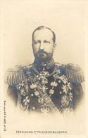 FERDINAND 1er, Prince De BULGARIE- Ed. S.I.P. - Bulgaria