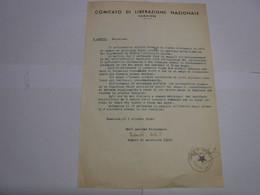 CAMAIORE  --LUCCA  -- COMITATO DI LIBERAZIONE  NAZIONALE  CAMAIORE - Italia