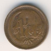 AUSTRALIA 1989: 1 Cent, KM 78 - Decimal Coinage (1966-...)