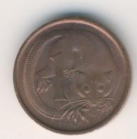 AUSTRALIA 1971: 1 Cent, KM 62 - Decimal Coinage (1966-...)
