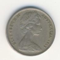 AUSTRALIA 1969: 5 Cents, KM 62 - Decimal Coinage (1966-...)