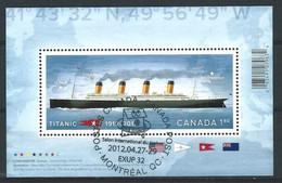 WW-/-948--  De 2011 - FEUILLET OBL. TITANIC, LES 100 ANS Du NAUFRAGE, SCOTT 2535 -  Voir IMAGE Pour Detail, Je Liquide - 1952-.... Elizabeth II