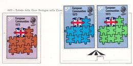 PIA - GRAN BRET - 1973 : Entrata Della Gran Bretagna Nella Comunità Europea -  (Yv  675-77) - Nuovi