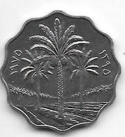 *irak 10  Fils 1975 FAO Km 142  Bu/ms65 - Iraq