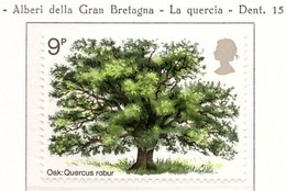 PIA  - GRAN BRETAGNA -  1973  :  Anno Del Rimboschimento - Quercia  - (Yv 678) - Nuovi