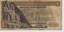 EGYPTE – 1 Livre égyptienne Type 1977 - Egypte