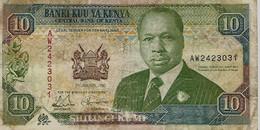 KENYA – 10 Shilings (02/01/1992) - Kenia