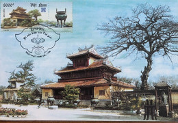 Maximum Maxicard Maxi Of Vietnam Viet Nam 2004 : Hue Old Capital - The World Culture Heritage (Ms920) - Viêt-Nam