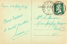 15c Pasteur Obl.  Grotte De PRESQUE (Lot) - Matasellos Manuales
