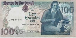 PORTUGAL – 100 Escudos (31/01/1984) - Portogallo