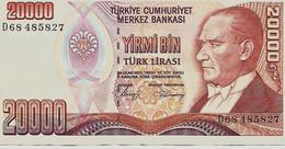 TURQUIE – 20000lires – 14 Ocak 1970 - Turchia