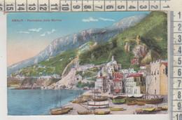 AMALFI SALERNO PANORAMA DALLA MARINA  1915 - Salerno
