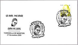 Matasellos 50 Aniversario MN VIVER. Torroella De Montgri, Girona, 2005 - 1931-Aujourd'hui: II. République - ....Juan Carlos I