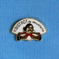 1 PIN'S //  ** LE BISTROT DE MOUSTACHE ** - F1