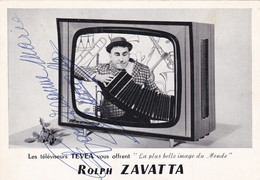 Homme De Cirque ROLPH ZAVATTA - Autografi