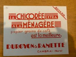 1 BUVARD CHICOREE DUROYON & RAMETTE - Cocoa & Chocolat