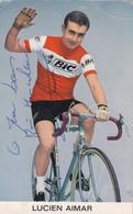 LUCIEN AIMAR Cycliste - Autografi