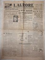 L'aurore Septembre 1946  Directeur Politique Paul Bastid  Journaux Anciens Journal - Autres