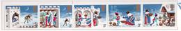 """PIA - GRAN BRET - 1973 : Natale - Canto Popolare """"Il Buon Re Venceslao""""-   (Yv  702a+707) - Nuovi"""