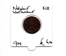 NEDERLAND WEST FRIESLAND DUIT 1739 - [ 5] Monnaies Provinciales
