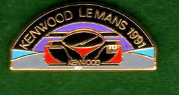 Pin's  24 Heures Du Mans 1991  Kemwood Zamac SIPP - Other