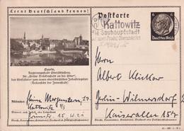 Germany 1941 Postcard Used In Kattowitz - Alemania