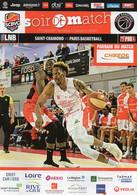 Programme Du Match De La 15 ème Journée St Chamond/Paris Basketball Du 17 Janvier 2020 - Abbigliamento, Souvenirs & Varie