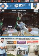 Programme Du Match De Pro A De La 18 ème Journée Roanne / Chalons-Reims Du 10 Janvier 2020 - Abbigliamento, Souvenirs & Varie