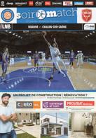 Programme Du Match De Pro A De La 20 ème Journée Roanne / Chalon Sur Saone Du 26 Janvier 2020 - Abbigliamento, Souvenirs & Varie