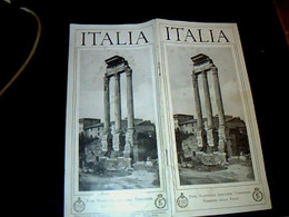 Italie Train E.N.T.  Ente NAZIONALE   INDUSTRIE  TURISTICHE FERROVlE  DELLO STATO  Livret Touristique 31 Pages  Année ? - Dépliants Turistici