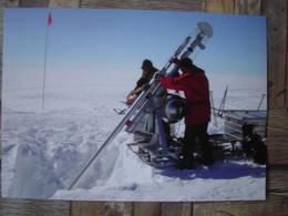 Représentation Du Timbre, International Polar Year 2007, Core Drilling, Année Polaire Internationale, Carottage - Groenlandia